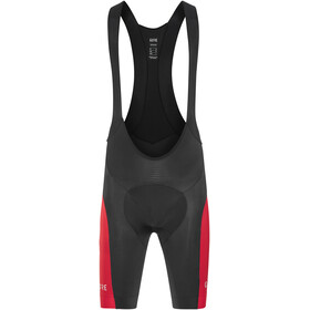 GORE WEAR C5 Bib Tights short Men black/red